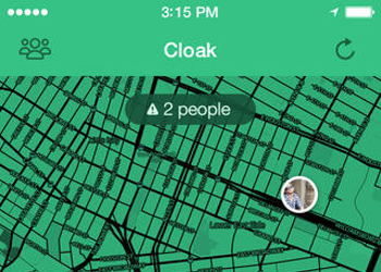 Cloak: The perfect iPhone app for avoiding weirdos