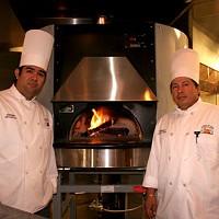 Co-owners Fernando Campoverde (left) and Kerwin Astudillo at Fiamma