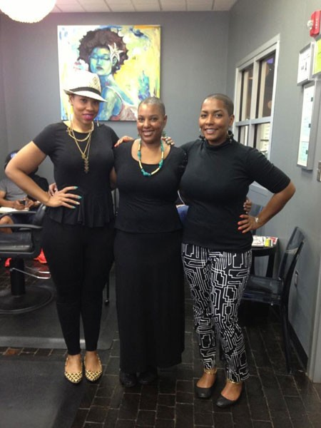 Co-owners Jessica Stanton, Tinesha Matthews, Kelley Carboni-Woods - COURTESY OF REVOLUTION EGO