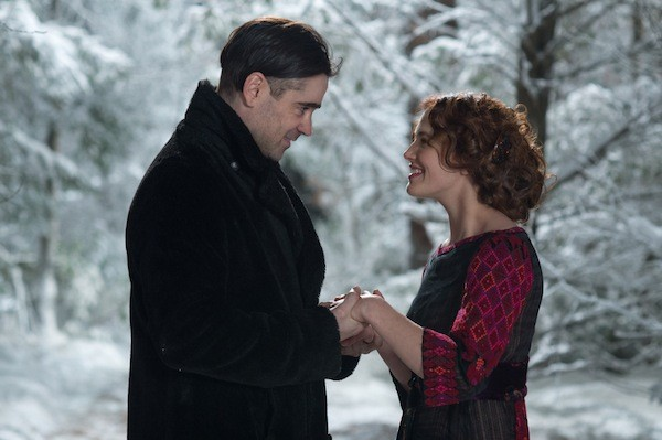 Colin Farrell and Jessica Brown Findlay in Winter's Tale (Photo: Warner Bros.)