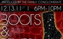 Coming up: Boots & Beats fashion mixer at Chima