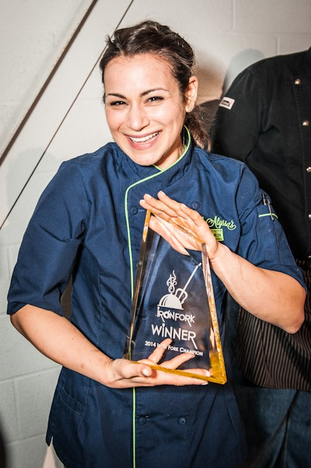 Congrats to Chef Alyssa for winning Iron Fork 2014