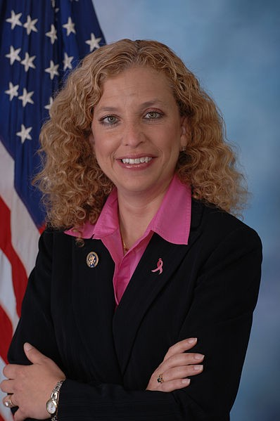 Congresswoman and Democratic National Committee chair Debbie Wasserman Schultz