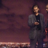 COOL AS VICE Crockett (Colin Farrell) and Tubbs (Jamie Foxx) get down to business in Miami Vice