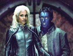 FOX - COSTUME BRAWL  Storm (Halle Berry)  and - Nightcrawler  (Alan Cumming) get  ready to rumble in - X2