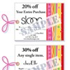 Stocking Stuffer Idea: Scoop Charlotte's coupon book
