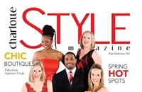 Get your copy of the debut issue of Charlotte STYLE Mag