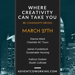 ADVENT COWORKING - Creative Speaker Series