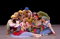 Snow White at Belk Theater this weekend