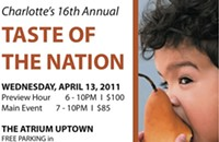 Don't forget: Taste of the Nation is Wednesday
