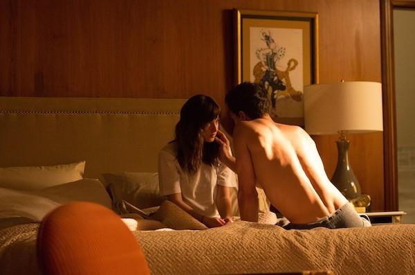 Dakota Johnson and Jamie Dornan in Fifty Shades of Grey (Photo: Universal)