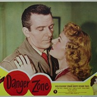 "Dale starred as the female lead opposite Hugh ""Leave It To Beaver""Beaumont in 1951's film Danger Zone."