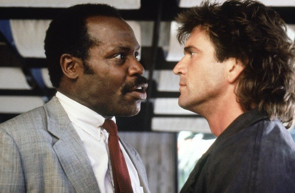 Danny Glover and Mel Gibson in Lethal Weapon (Photo: Warner)