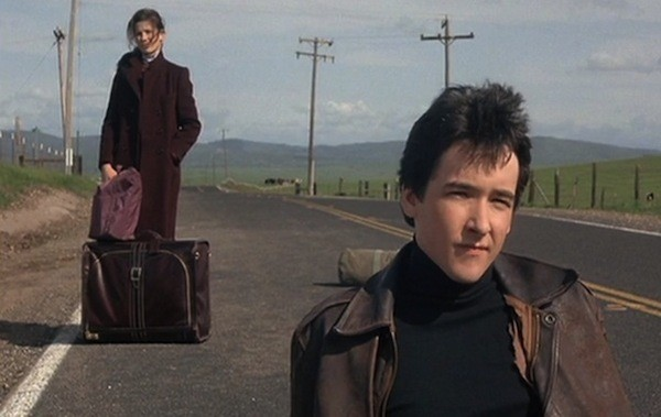 Daphne Zuniga and John Cusack in The Sure Thing (Photo: Shout! Factory)