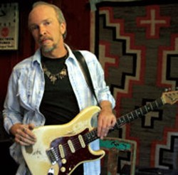 ISSA SHARP - Dave Alvin and his  rarely used Stratocaster
