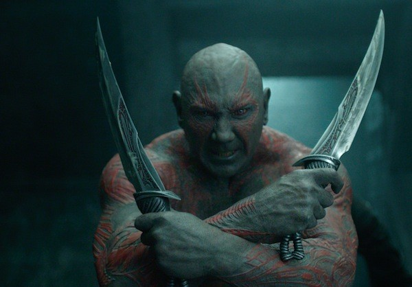 Dave Bautista in Guardians of the Galaxy (Photo: Disney & Marvel)