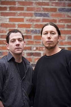 ANGUS LAMOND - Dave Odgen (left) of Tremont Music Hall and Zach McNabb of Neighborhood Theatre