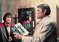 FOX - David Warner and Gregory Peck in The Omen