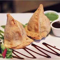 DEEP SPICE 9: Samosas are among the offerings available out in Concord.