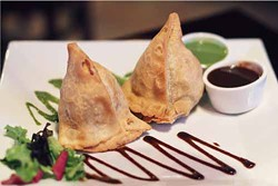 ASHLEY GOODWIN - DEEP SPICE 9: Samosas are among the offerings available out in Concord.