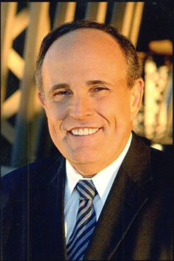 OVALOFFICE2008.COM - DEFENDER AGAINST TERRORISM?: Rudy Guiliani