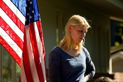 SHOWTIME - DEFENDING THE FLAG: Claire Danes in Homeland