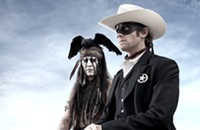 First Look: Depp as Tonto