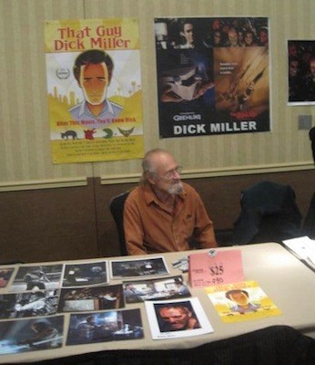 Dick Miller at the 2014 Mad Monster Party