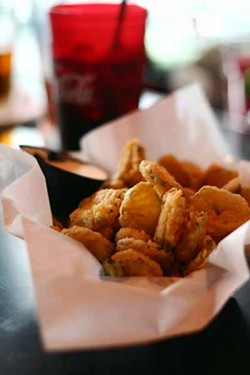 ASHLEY GOODWIN - DILL-ICIOUS: Fried pickles from the Penguin