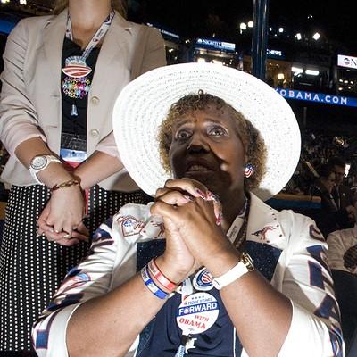 DNC in photos: Michelle Obama, happy delegates, more