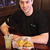 DO THE LOCO MOTION: Jeff Smith, managing partner at The Loco Lime, shows off some of the restaurant's good eats.