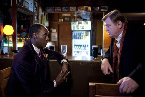 Don Cheadle and Brendan Gleeson air out their differences in The Guard. (Photo: Sony Pictures Classics)