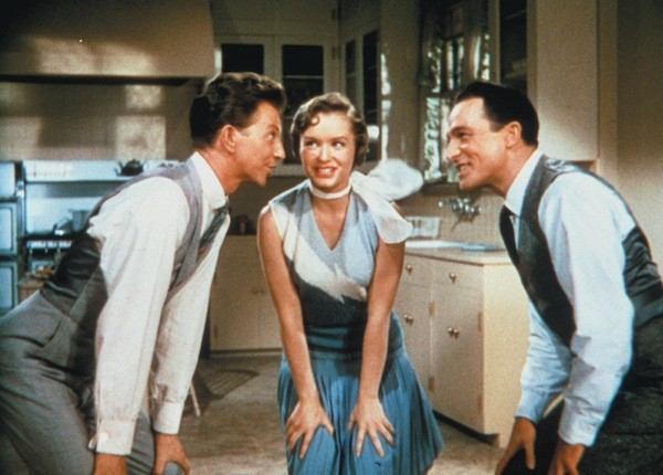 Donald O'Connor, Debbie Reynolds and Gene Kelly in Singin' in the Rain (Photo: Warner Bros.)