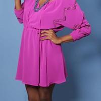 Dress: The Pink Hanger
