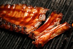 CATALINA KULCZAR - DROOLING YET?: A tasty rib from 521 BBQ & Grill