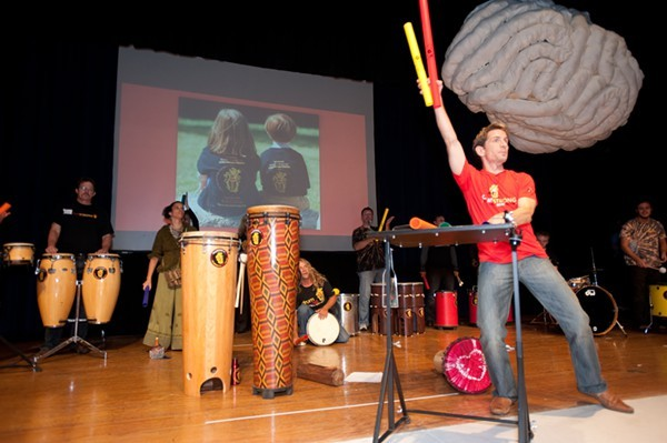 drumSTRONG performs at TEDxCharlotte