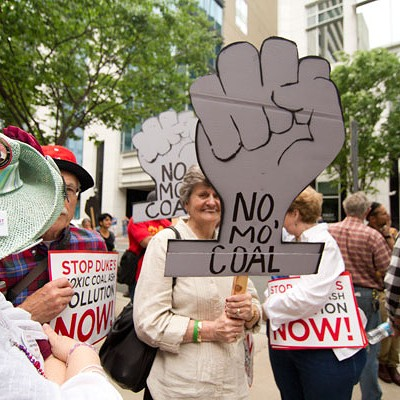 Duke Energy protest, 5/1/14