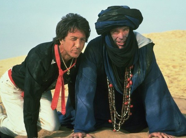 Dustin Hoffman and Warren Beatty in Ishtar (Photo: Columbia)