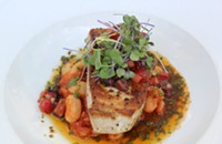 Eat This: Pan Seared Swordfish at Barrington's