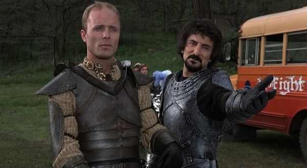 Ed Harris and Tom Savini in Knightriders (Photo: Shout! Factory)