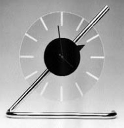 ELECTRIC CLOCK (1933), by Gilbert Rohde