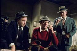 ENTERTAINMENT ONE & NBC - ELEMENTARY, MY DEAR ELLERY: Jim Hutton (center) as Ellery Queen