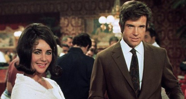 Elizabeth Taylor and Warren Beatty in The Only Game in Town (Photo: Twilight Time)