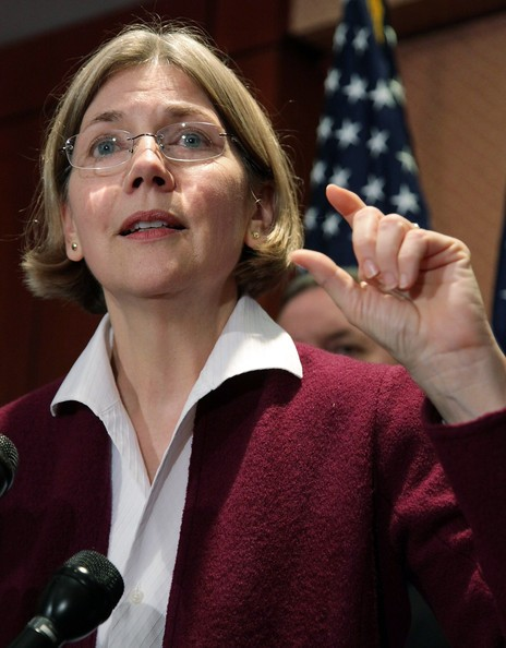 Elizabeth Warren, head of the Consumer Financial Protection Bureau