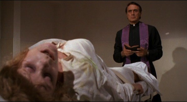 Elke Sommer and Robert Alda in The House of Exorcism (Photo: Kino Lorber)