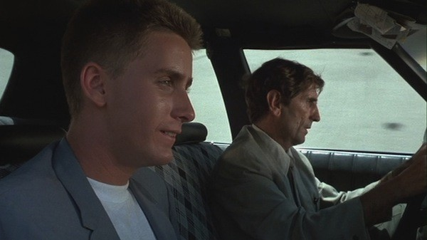 Emilio Estevez and Harry Dean Stanton in Repo Man (Photo: Criterion)