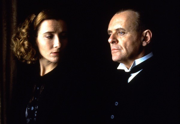 Emma Thompson and Anthony Hopkins in The Remains of the Day (Photo: Twilight Time)