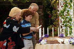 MICHAEL YARISH / MIRAMAX - ETERNAL FLAME Benjamin (Daryl Sabara) and his grandparents (Doris Roberts and Garry Marshall) keep tradition alive in Keeping Up With the Steins