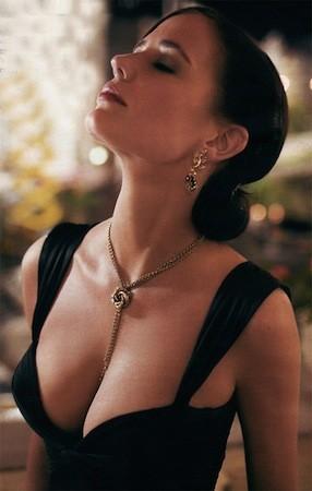 Eva Green as Vesper Lynd