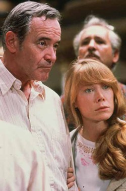 COURTESY OF THE CRITERION COLLECTION - FAMILY TIES: Ed Horman (Jack Lemmon) and his daughter-in-law Beth (Sissy Spacek) search for her husband in Missing.